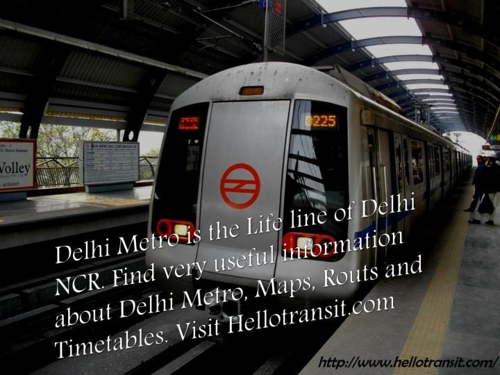 PPT - Delhi Metro timings PowerPoint Presentation - ID:7150618