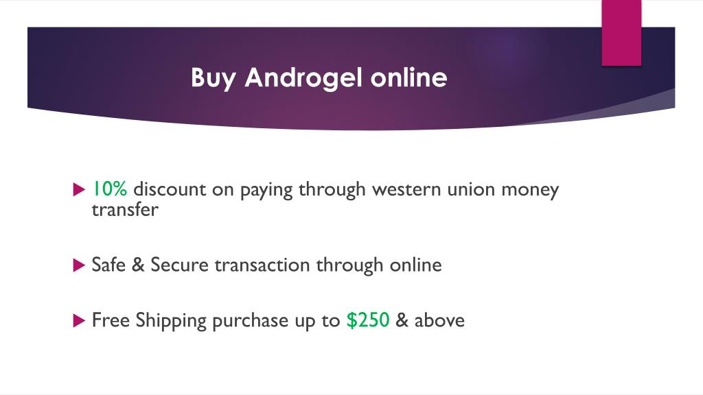 PPT - Buy Androgel Testosterone Gel PowerPoint Presentation free download - ID:7150677