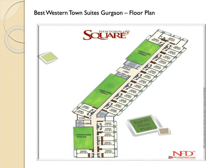 Ppt best western new town square gurgaon sector 95a for Western floor plans