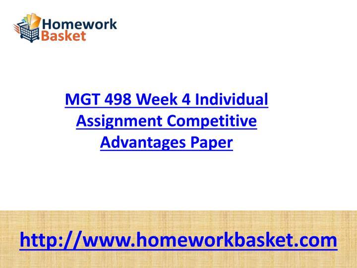 riordan mgt 498 competitive advantages paper Mgt 498 week 4 - learning team paper - competitive advantages paper (riordan.