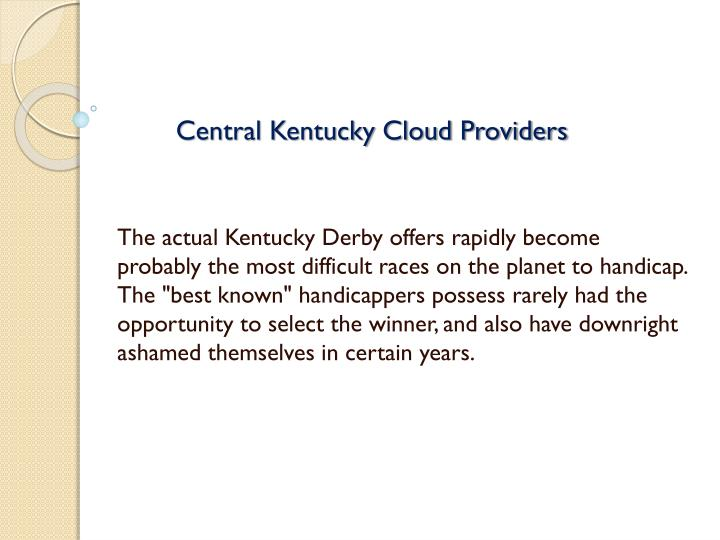 central kentucky cloud providers n.