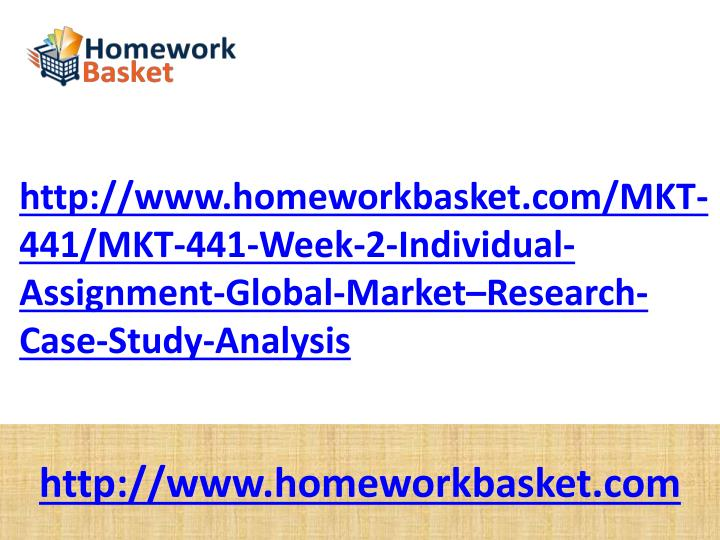 mkt 441 global market research case study analysis
