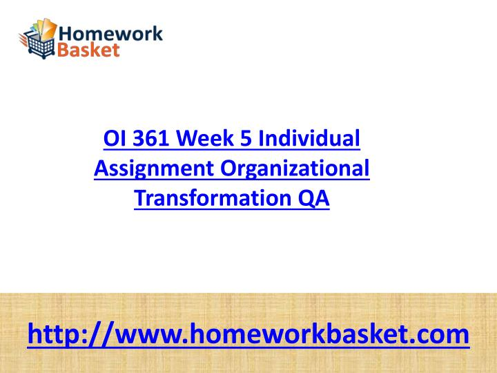 oi 361 week 2 Oi361 entire course entire course link:  week 1 definition paperwrite a 350- to 700-word paperthat defines andcompares a.