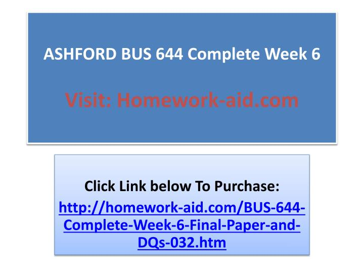 ashford bus 644 week 6 Ashford bus 670 week 6 dq 1 claims to environmental-friendliness ashford bus 670 week 6 dq 2 environmental statutes ashford bus 670 week 6.