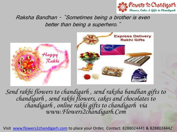 """Raksha Bandhan - """"Sometimes being a brother is even better than ..."""
