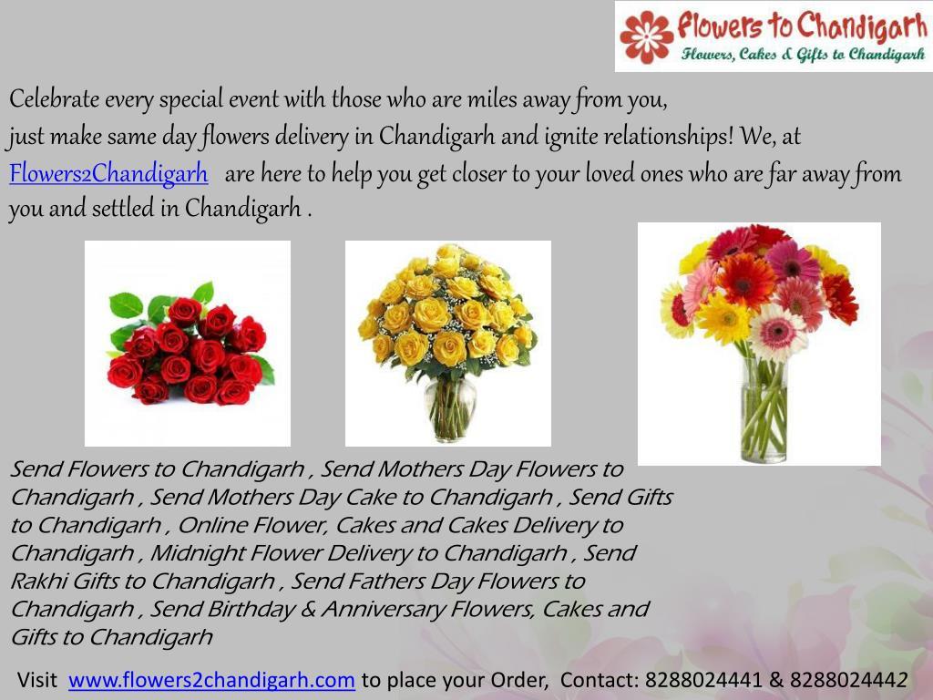 PPT - Send Rakhi Flowers to Chandigarh PowerPoint Presentation - ID:7152723