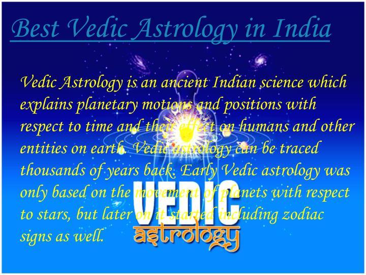 Best Vedic Astrology