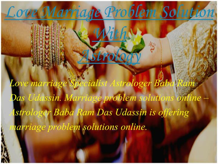 Love Marriage Problem Solution With