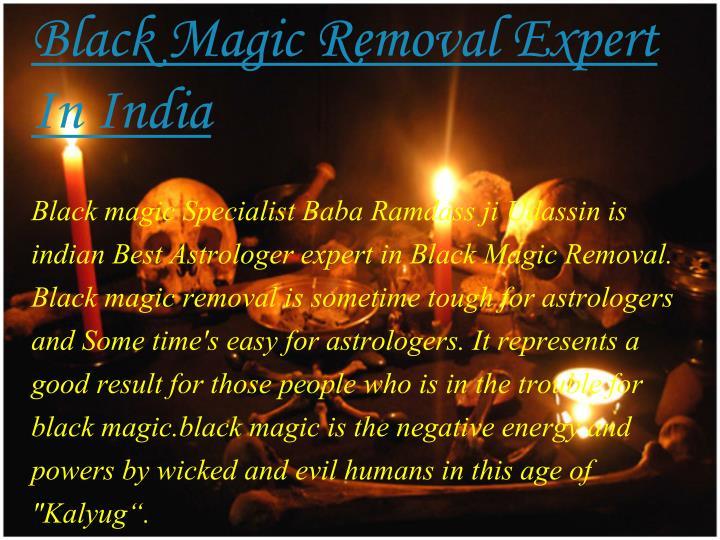 Black Magic Removal Expert In
