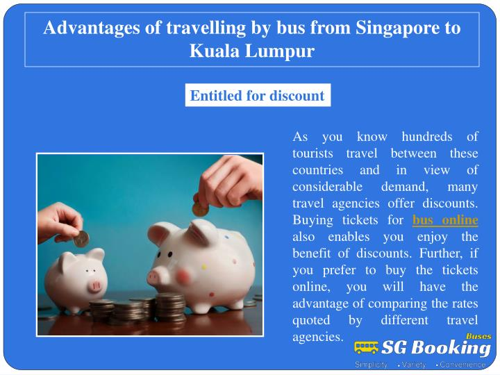 advantages of travelling by bus