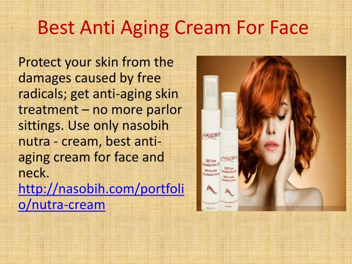 ppt best anti aging cream for face powerpoint. Black Bedroom Furniture Sets. Home Design Ideas