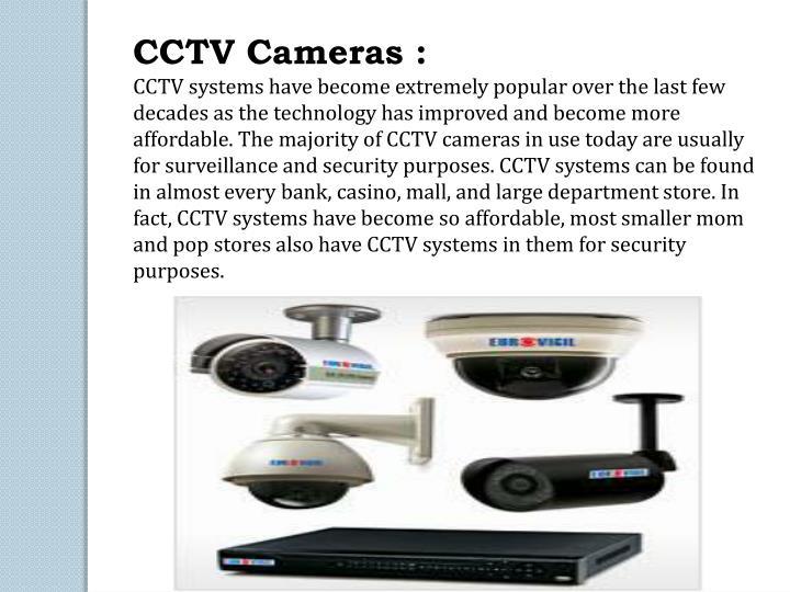 CCTV Cameras :