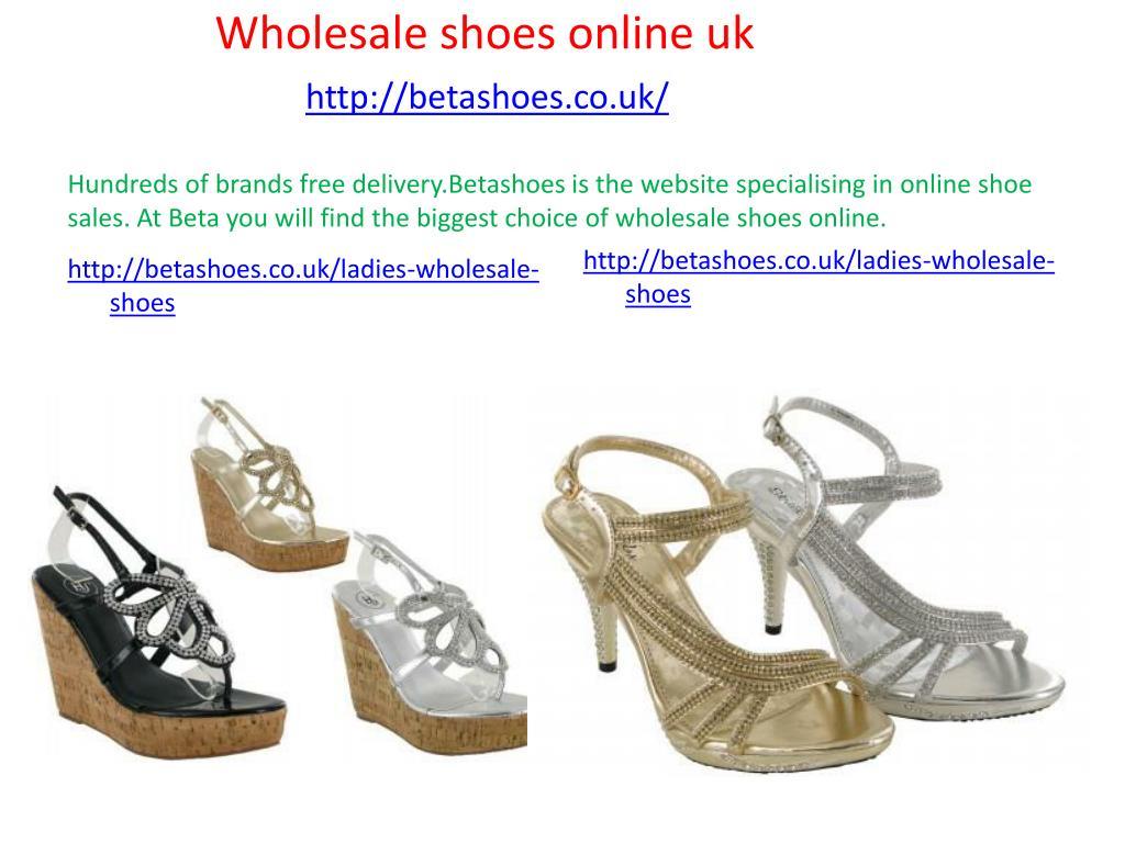 PPT - Shoes wholesaler distributors