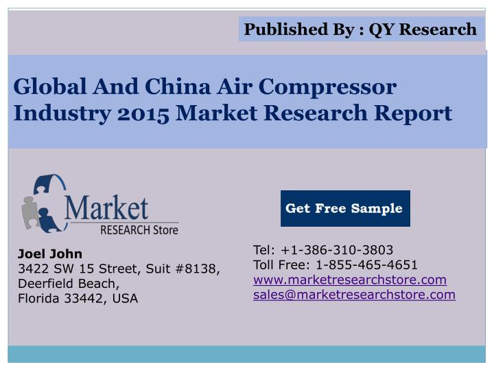 global and china air compressor industry 2015 market research report n.
