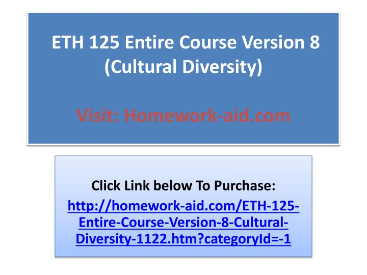 eth125 r8 diversity worksheet essay Eth125 r8 discrimination worksheet eth 125 entire course plete course version 8 cultural eth 125 full class material version 8 cultural diversity by eth125 week 2.