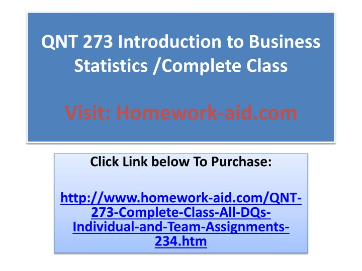 introduction to business statistics pdf