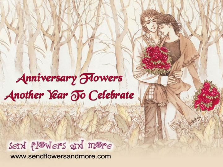 Celebrate anniversary with beautiful flowers