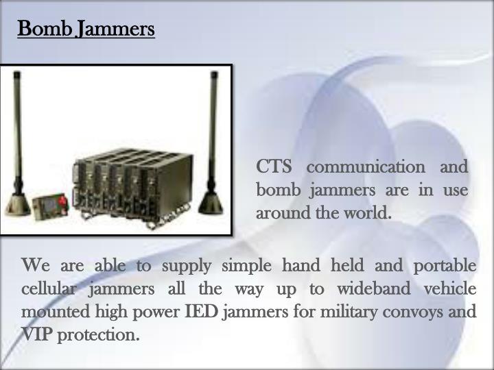 Bomb Jammers