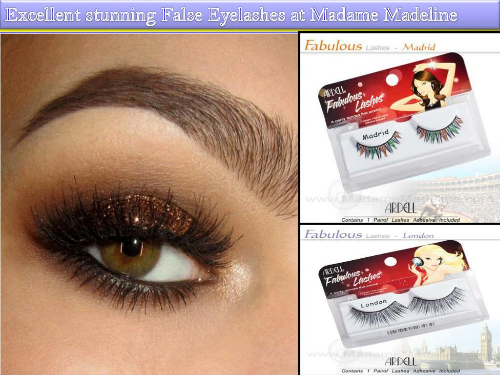 ab228ba3656 False eyelashes of Madame Madeline can suit everyone's need and preference.  I hope you have enjoyed our smart tips and information regarding the false  ...