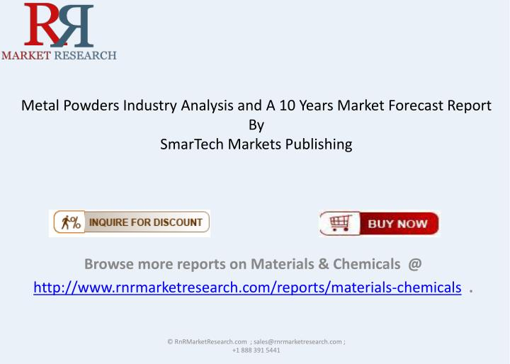 Metal Powders Industry Analysis and
