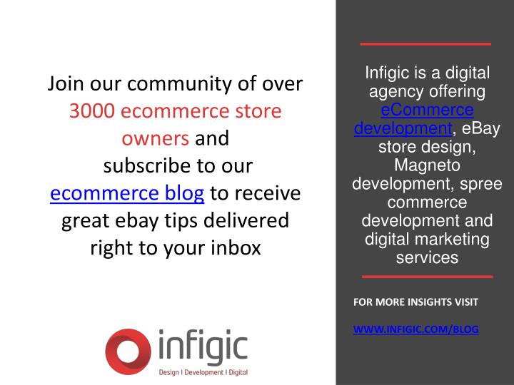 Infigic is a digital agency offering