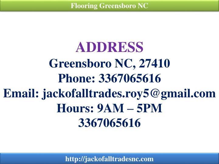 Flooring Greensboro NC