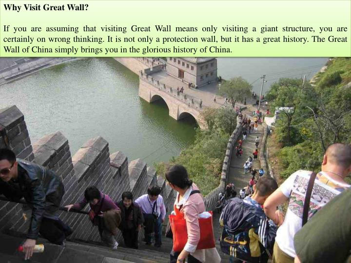 Why Visit Great Wall