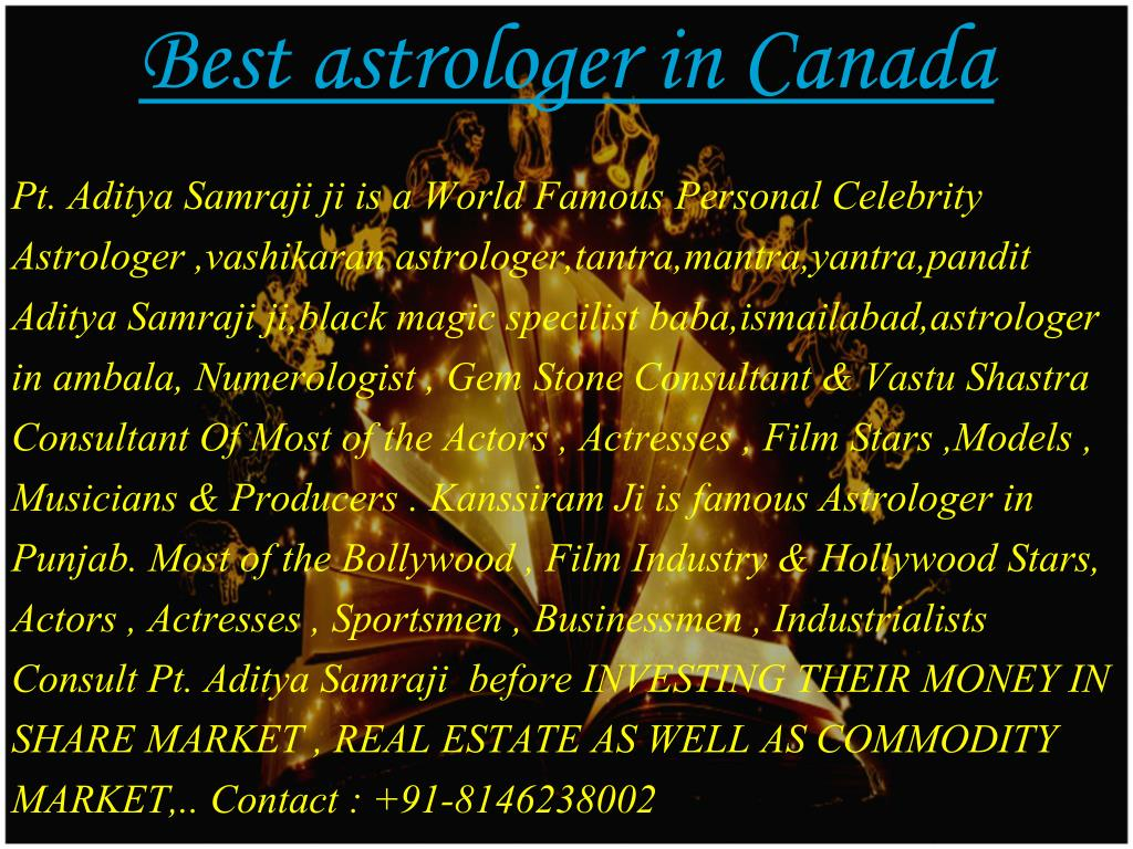 PPT - Best Astrologer in canada PowerPoint Presentation - ID