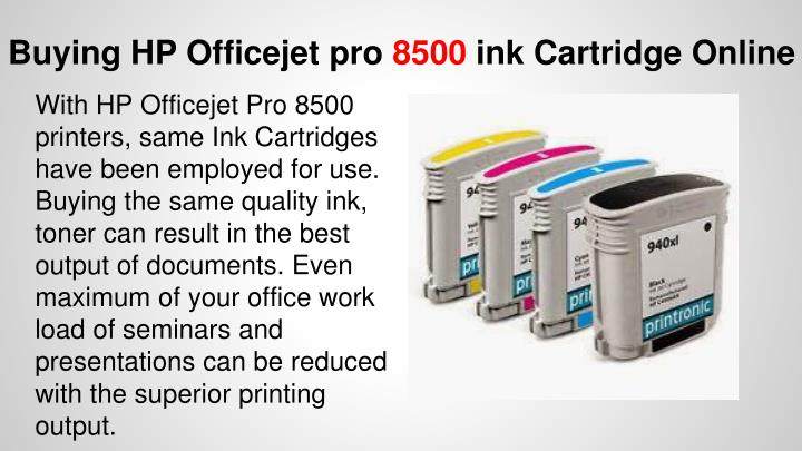 Buying HP Officejet pro