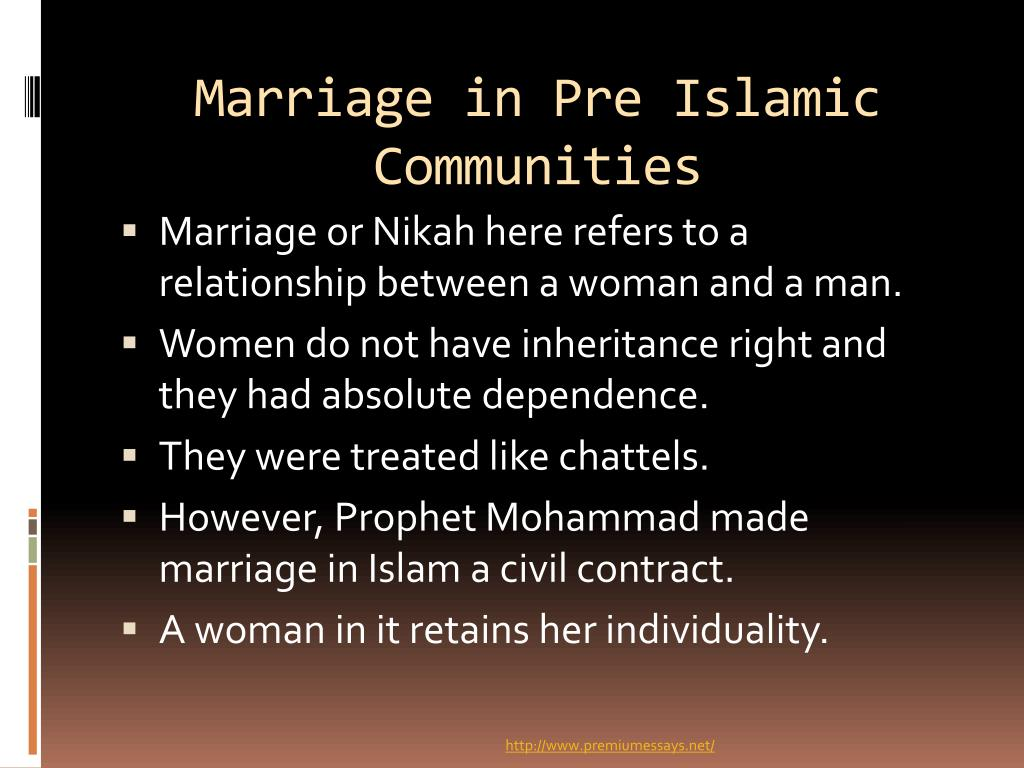 PPT - Islamic Views on Marriage and Divorce PowerPoint