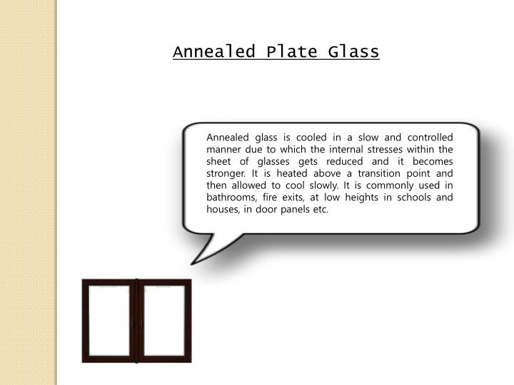 Annealed Plate Glass