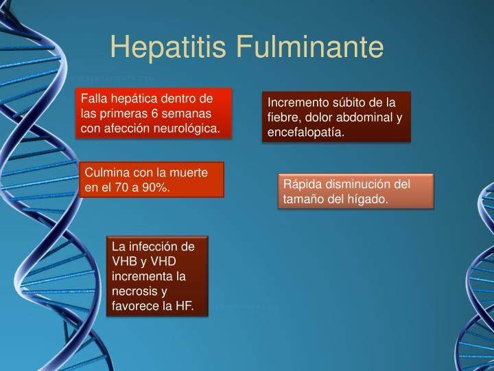Hepatitis Fulminante