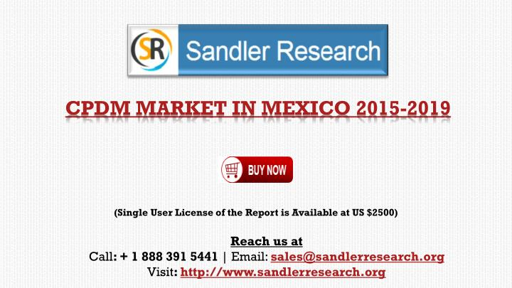 cpdm market in mexico 2015 2019 n.