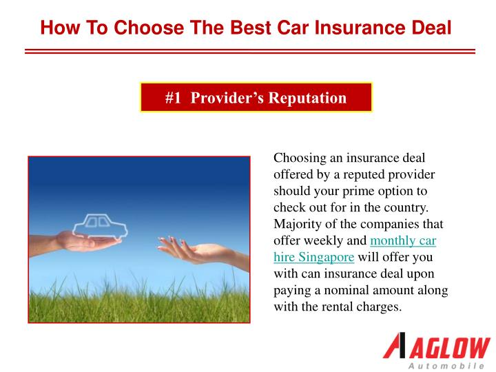 PPT - How to choose the best car insurance deal PowerPoint ...