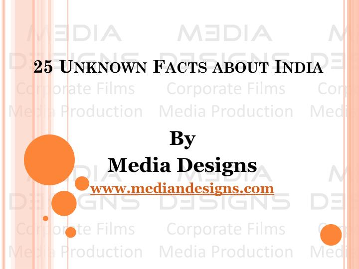 25 unknown facts about india n.