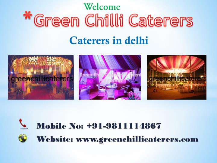 green chilli caterers n.