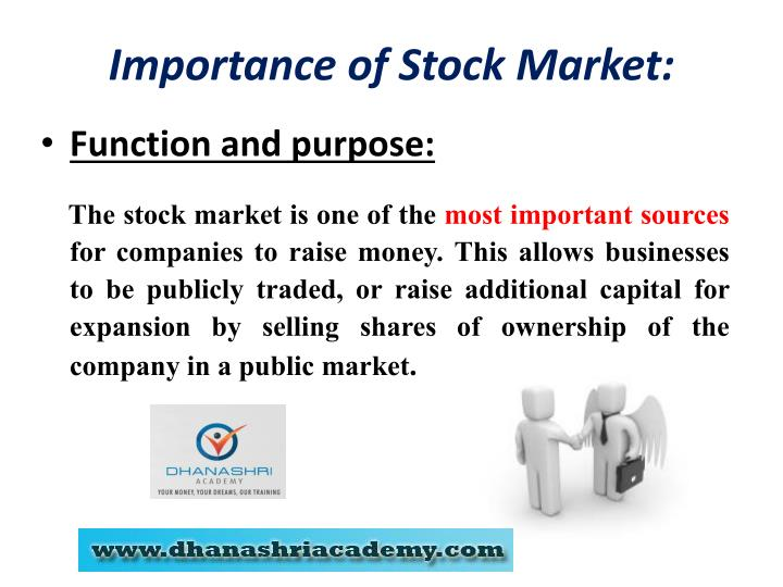 stock exchanges funtion and purpose Role of stock exchange in the development of indian capital market: established for the purpose of assisting existing structure of the stock exchanges in india.