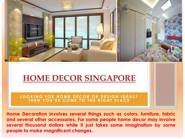 Ppt Home Decoration Singapore Powerpoint Presentation Id 7159033
