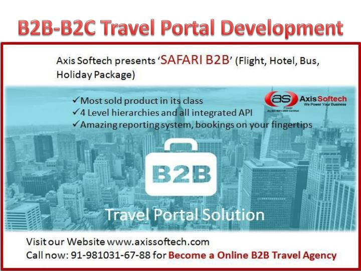 PPT - B2B-Travel-Portal-Development-Online-Travel-Agent-Software