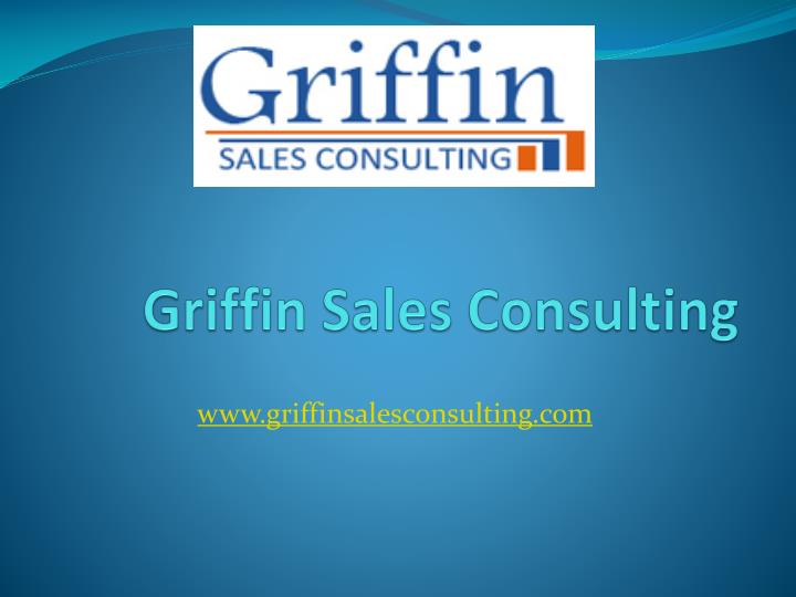 griffin sales consulting n.