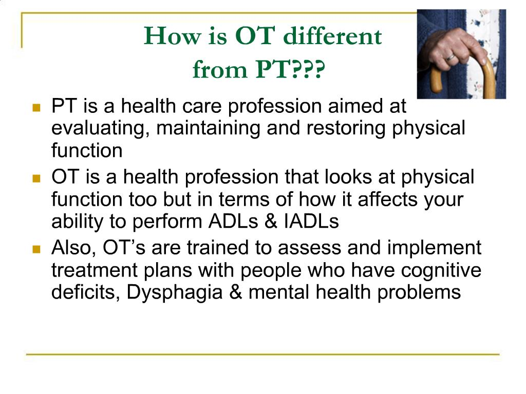 Ppt Occupational Therapy Powerpoint Presentation Free Download Id 716001