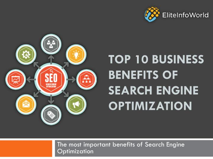 top 10 business benefits of search engine optimization n.