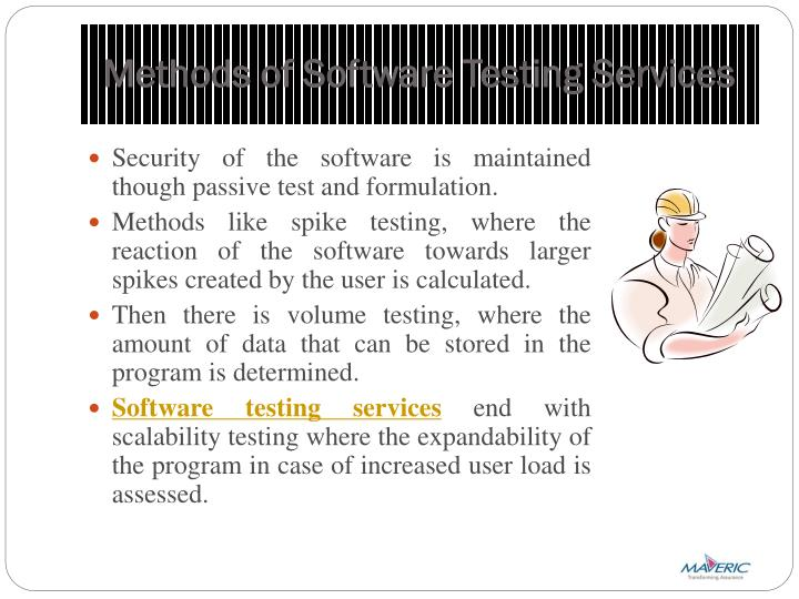 Methods of Software Testing Services
