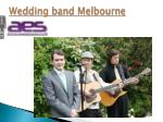 wedding band melbourne1