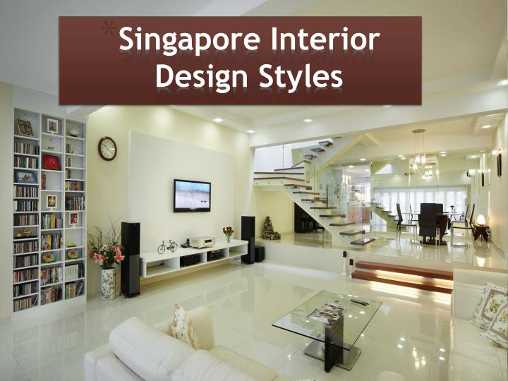 Singapore interior design styles