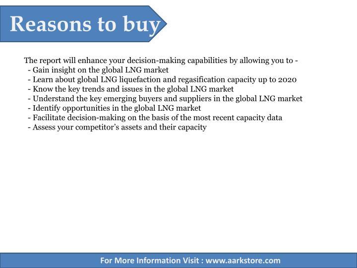 Reasons to buy