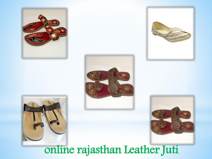 online rajasthan Leather Juti