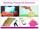 banking finance insurance