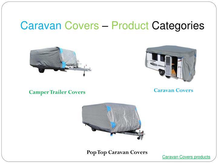 Caravan covers product categories