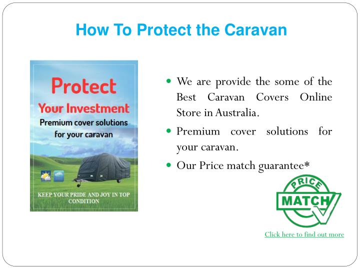 How To Protect the Caravan